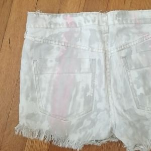 Free People | icing wash frayed cut off shorts